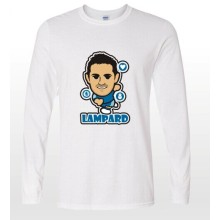 New design 2014-15 season EPL club team ChelseaLampard  soccer fan cartoon long t-shirts