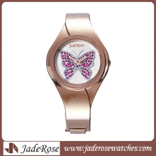 Smart and Newest Waterproof Alloy Bracelet Watch for Lady
