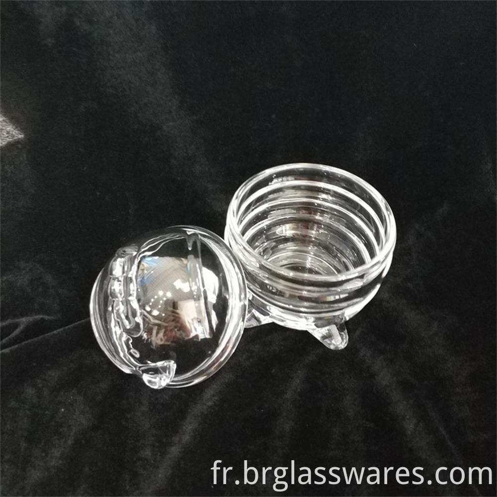 Chick Shaped Easter Egg Glass Jar With Lid