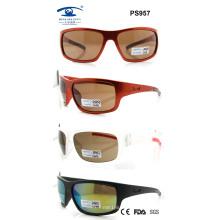 Colourful Woman Man 2015 Fashion High Quality Sport Sunglasses (PS957)