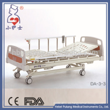 CE / FDA / ISO13485 acero y aluminio de enfermería cama de hospital