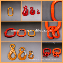 G100 G80 clevis grab hook with latch