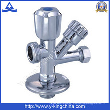 Polished Brass Washing Five-Way Angle Valve (YD-5012)