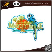 Kundenspezifischer Eisen-unterstützender Stickerei-Gewebe-Aufkleber für Stoff