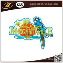 Custom Iron Backing Embroidery Fabric Label for Cloth