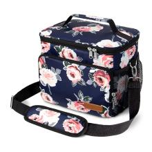 Ladies Insulated Lunch Bag Leakproof Nurse Lunch Bag for Office Work School Cooler Tote Bag with Adjustable Shoulder Str