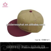 simple blank jean snapback cap