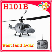 Hubsan 4CH Mini Invader rc Helicopter H101B Hubsan rc hélicoptère 4CH Westland Lynx rc Helicopter