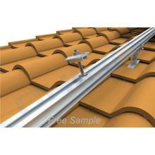 Aluminium rail for solar panels pv solar panel aluminum solar mounting rail