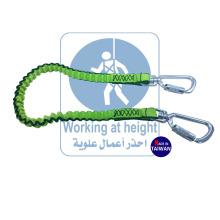 Protección Contra Caídas Carabiner Lock Con Largo De la Herramienta Cordón Para La Seguridad De la Bobina