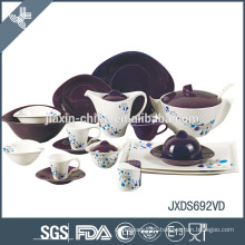 hot-selling item with decal christmas porcelain dinner set