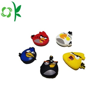 Cartoon Angry-Bird Silikon Tennisschläger Vibration Absorber