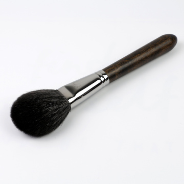 Wool copper ferrule wooden Single brush makeup