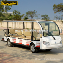 Wholesale Cheap 7.5KW 72V 14 Seats Electric Sightseeing bus Electric Tour Car
