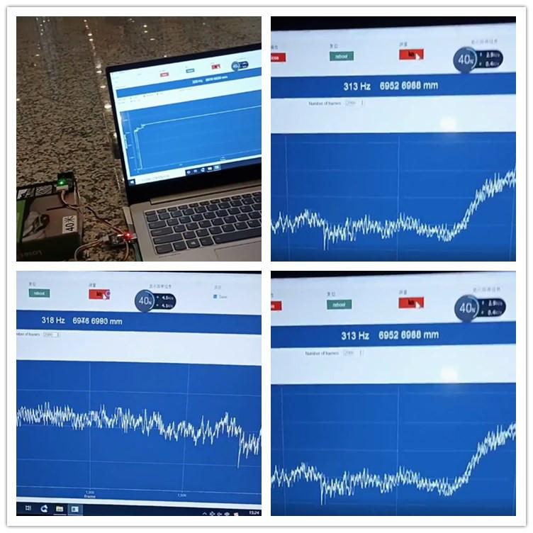 300hz Range Sensor Test Data