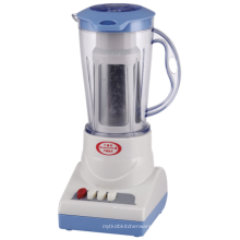 Бытовой электрический блендер с пластиковой банкой 1,0 л