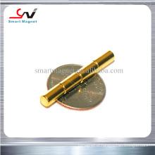 Ímã de ouro de neodímio competitivo de alta resistência de várias formas