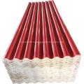 Высокопрочный огнеупорный красный кровельный лист Mgo