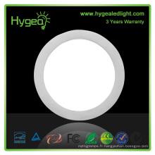 Haute luminosité 4W led en panneau rond, panneau ultra léger, petit plafond led