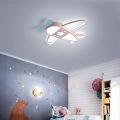 Iluminação de teto tradicional com led