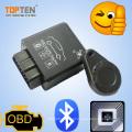 OBD2 GSM Rastreador sem fio do GPS com RFID e diagnósticos de Bluetooth (TK228-WL)