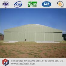 Hangar de aviones preestructurado de estructura de acero