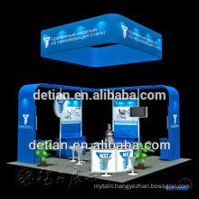 modular Island exhibition booth 6mx6m / 20x20