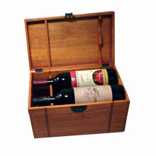 Caixa de madeira do presente feito sob encomenda para o pacote / jóia / vinho / chá