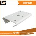 Soporte de montaje en pedestal de poste de fundición a presión de aluminio para cámara CCTV