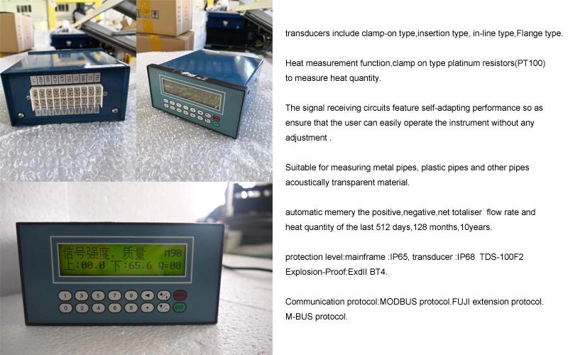Panel Mounted Ultrasonic Flow Meter
