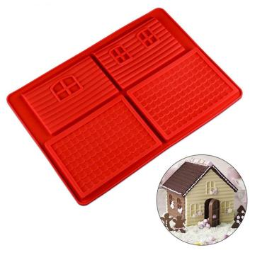 Mini Gingerbread Man House Molds Kit