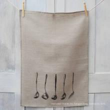 Hight quality no Bleach print toalla de té de toalla de cocina de patrón personalizado TT-021