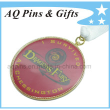 Metal Medal with Digital Printing & Epoxy