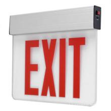 Signe de sortie de LED, signe de sortie d'urgence, signe de sortie, signe de sortie d'urgence