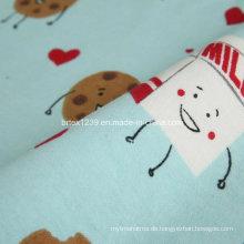 100% Baumwolle Flanell Stoff für Pyjamas mit Cartoon gedruckt (C20X10 / 40X42)