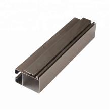 Profilé en alliage d'aluminium 6063 pour porte et fenêtre