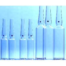 Klar- und Braunglas pharmazeutischen Fläschchen Glasflasche durch neutrale Glasrohr