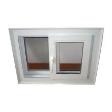 WANJIA pvc door window  pvc double glazing windows sliding windows