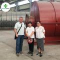 Capacidad diferente 10T capacidad utilizada planta de destilación de aceite para diesel sintético
