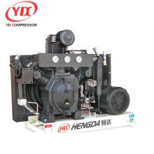 Reciclagem de alta pressão do compressor do refrigerador de 56CFM 435PSI Hengda