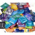 Sacos de preservativos máquina de embalagem automática de filme de celofane