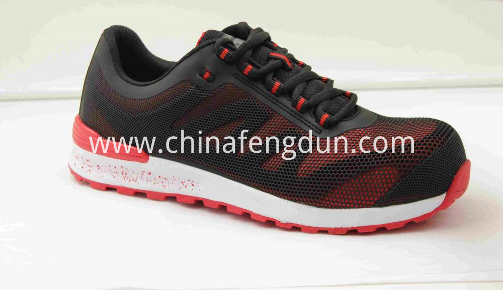 Red Rubber Outsole Shoe