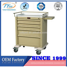 hospital medication trolley trolley with wheels