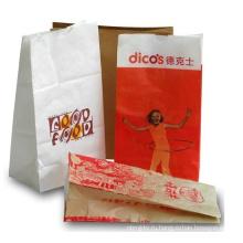 Отличное качество гамбургер бумажный мешок для продажи