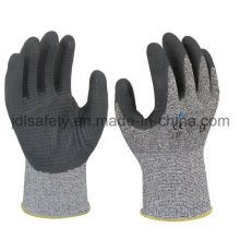 Dotted Cut Resistant Work Glove with Foam Nitrile Coating (ND8063)