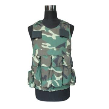 Geben Sie 8 Armee Kampf 3 Grade Schutz weiche kugelsichere Weste