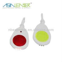 Plastic led bag light keychain led flashlight wholesale