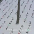Cantos de ângulos galvanizados de acabamento plástico revestidos para paredes