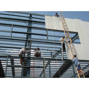 China Supplier for Galvanized Light Steel Structure Workshop/ Warehouse (SSW-14343)