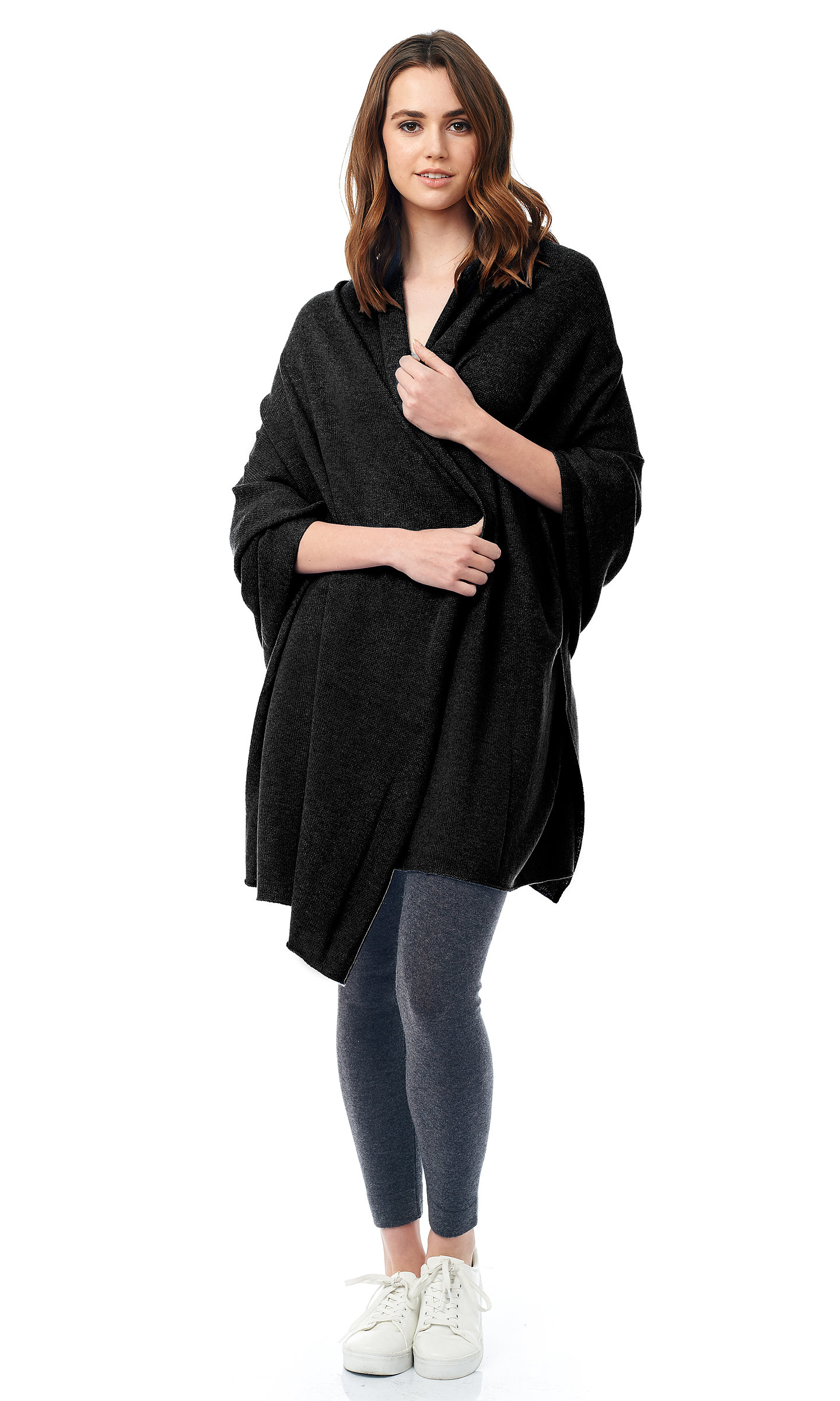 black jersy knit travel wrap (2)
